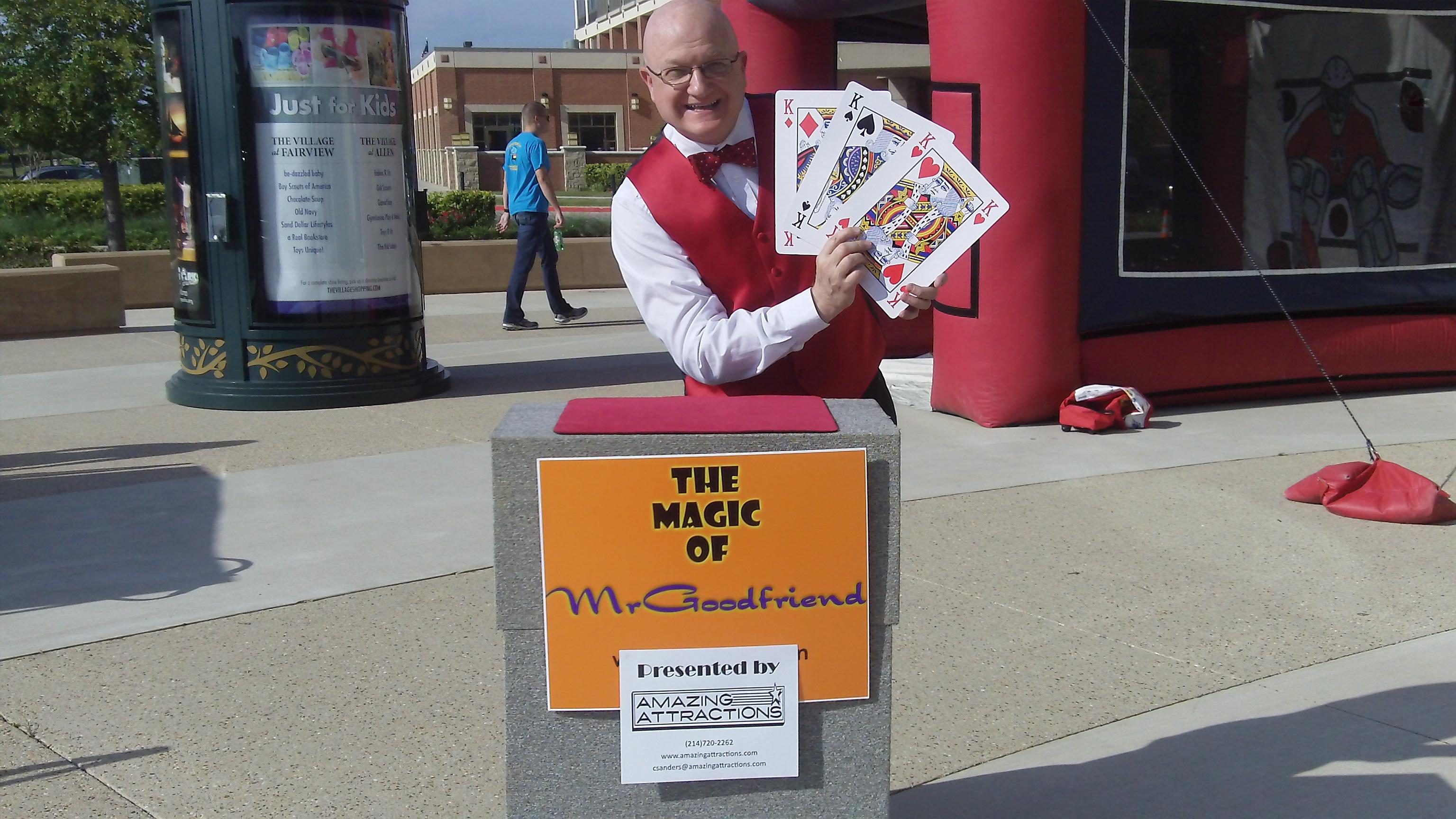 Professional Sporting Events - Event magician Dallas TX